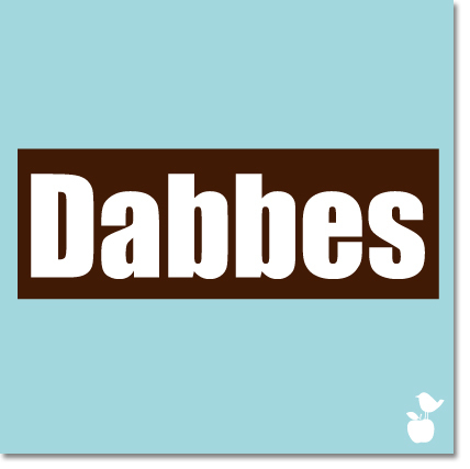 "Magnet ""Dabbes"""