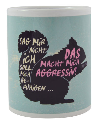 "Kaffeebecher KS ""Aggressiv"""
