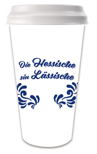 "Coffee-to-go-Becher ""Lässisch"""